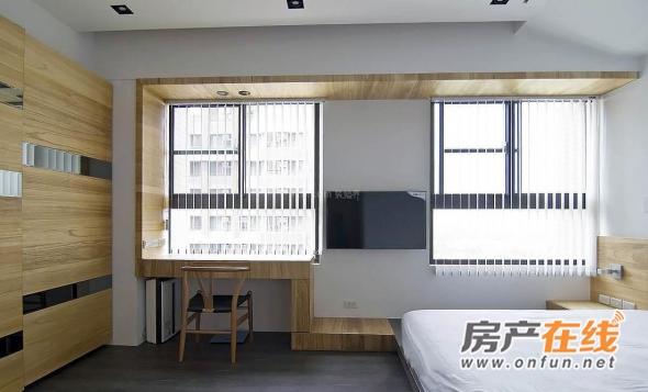精致简约卧室窗户图欣赏